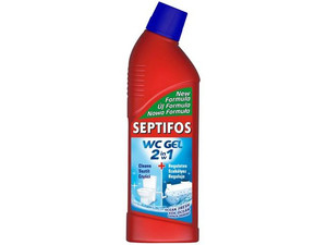 Bio-żel do WC SEPTIFOS VIGOR 750ml, 2 w 1