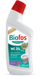 BIOFOS - Biologiczny żel do WC o zapachu lawendy 500 ml